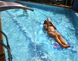 Relax in our pool
